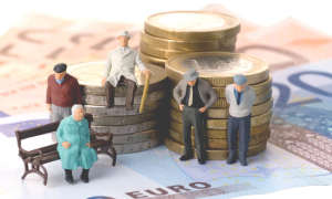 Сравнение пенсий в России и Украине
